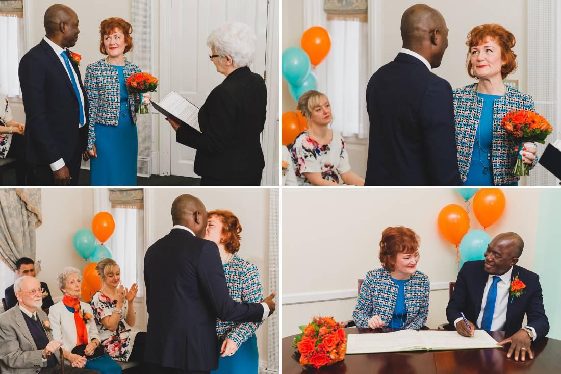 Halifax Registry office Wedding - Jane and Larteque 9