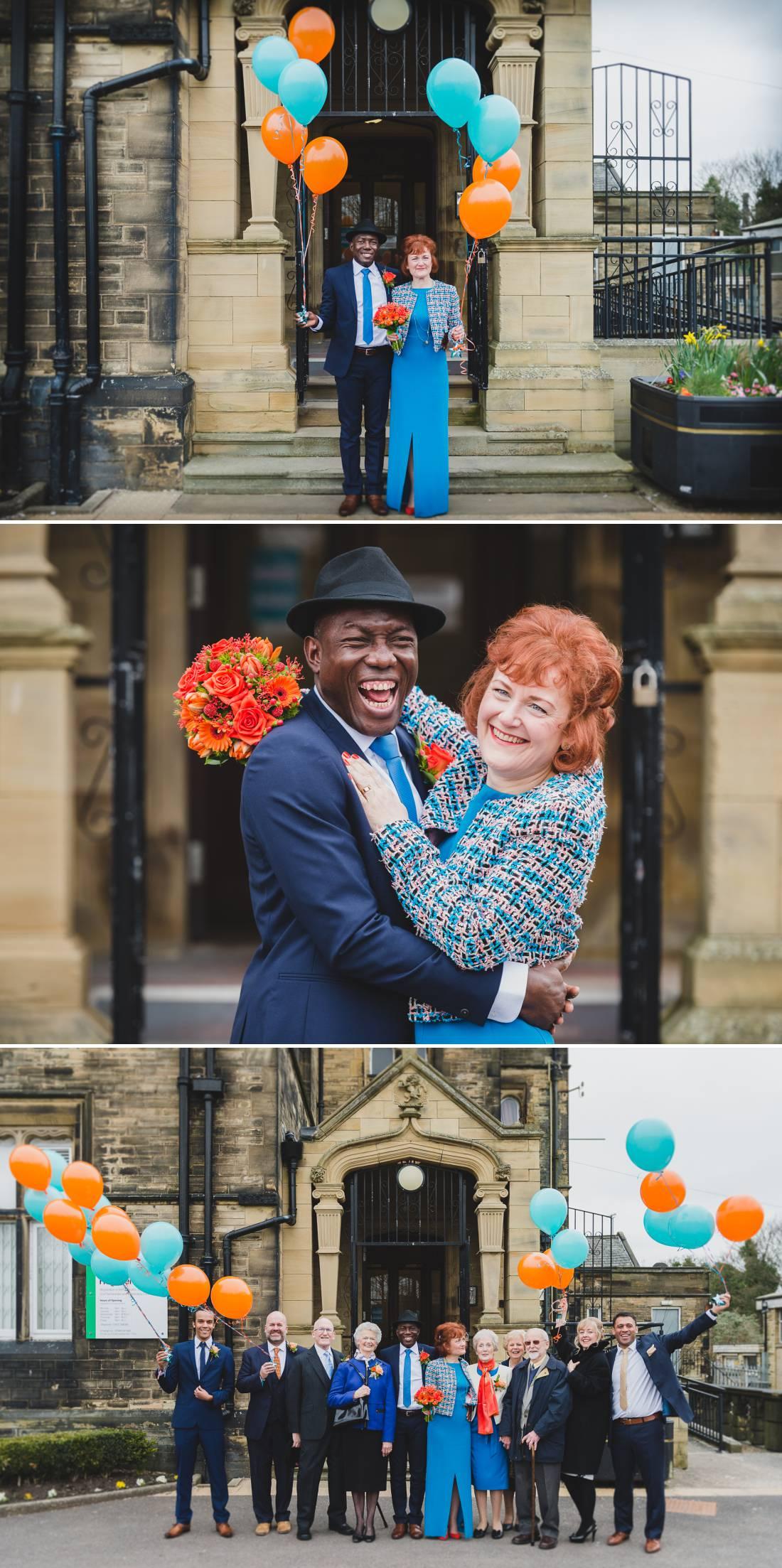 Halifax Registry office Wedding - Jane and Larteque 8