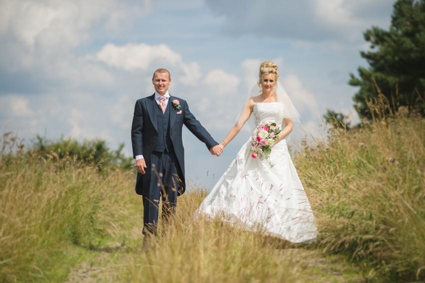 Ripponden Wedding bride and groom
